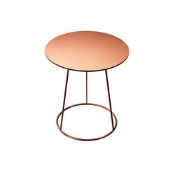 Breeze copper side table | Tavolini di servizio | Swedese