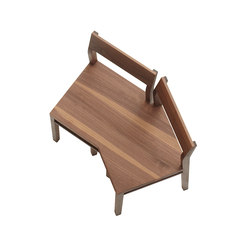 Chapter House Bench model 02 ch | Panche attesa | Fehling & Peiz & Kraud