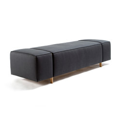 Box Wood Bench | Wartebänke | Inno