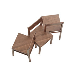 Chapter House Bench model 03 ch | Panche attesa | Fehling & Peiz & Kraud
