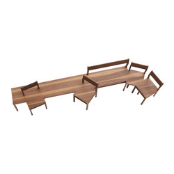 Chapter House Bench model 06 ch | Bancs d'attente | Fehling & Peiz & Kraud