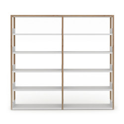 Lap shelving tall | Büroregalsysteme | Case Furniture