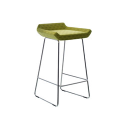 Happy lower bar stool | Sgabelli bar | Swedese