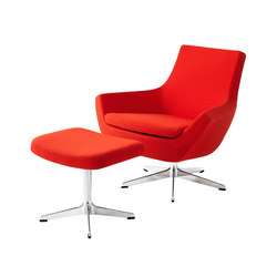 Happy Swing low back with foot stool | Sillones lounge | Swedese
