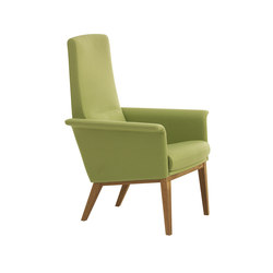 Lazy easy chair high back | Fauteuils d'attente | Swedese