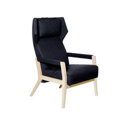 Select Wood easy chair | Poltrone reclinabili | Swedese
