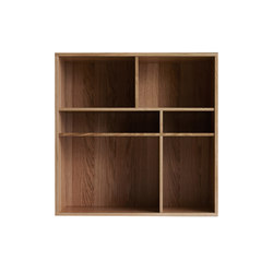 Fakta bookshelf | Shelving modules | Swedese