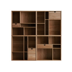 Fakta bookshelf | Shelving systems | Swedese