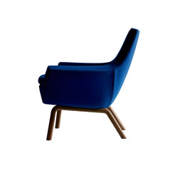 Happy easy chair low back | Poltrone lounge | Swedese