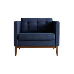 Madison easy chair | Poltrone lounge | Swedese