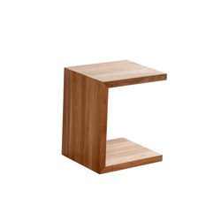 C-Table Teak | Tables basses de jardin | Tribù