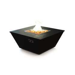 Aztec Gas Fire Table | Caminetti da giardino | Rivelin