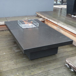 Costume Made Fire Table | Mesas de fuego | Rivelin
