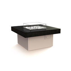 Manhattan Gas Fire Table | Caminetti da giardino | Rivelin