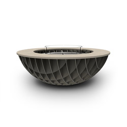 Seville Gas Fire Bowl | Garden fire pits | Rivelin