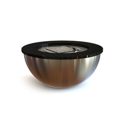 Valencia 100 Gas Fire Bowl | Fire tables | Rivelin