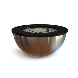 Valencia 120 Gas Fire Bowl | Garden fire pits | Rivelin