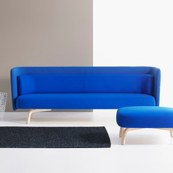 Portus 3-Seater Sofa | Lounge sofas | Lammhults
