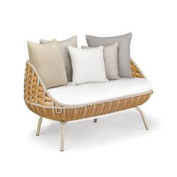 Swingrest 2er-Sofa | Gartensofas | DEDON