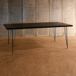 Sputnik Black Table | Restaurant tables | Heerenhuis