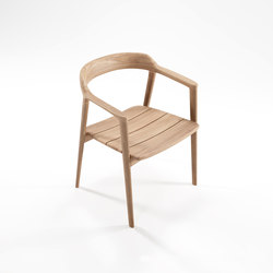 Grasshopper ARM CHAIR WITHOUT CUSHION | Chairs | Karpenter