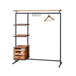 CLOTHINGRACK 3 WOOD | Freestanding wardrobes | Noodles Noodles & Noodles