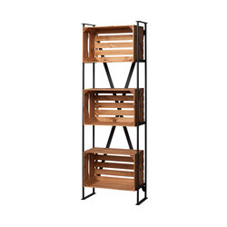 SHELF WITH CRATES | Office shelving systems | Noodles Noodles & Noodles