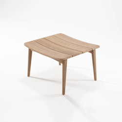 Grasshopper OTTOMAN WITHOUT CUSHION | Hocker | Karpenter