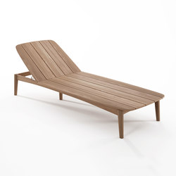 Grasshopper SUNBED WITHOUT CUSHION | Tumbonas de jardín | Karpenter