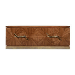 Walnut | Sideboard | Caissons | GINGER&JAGGER