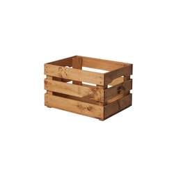 WOOD CRATE 1 CR | Storage boxes | Noodles Noodles & Noodles Corp.