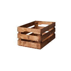 WOOD CRATE 1 LARGE | Storage boxes | Noodles Noodles & Noodles Corp.