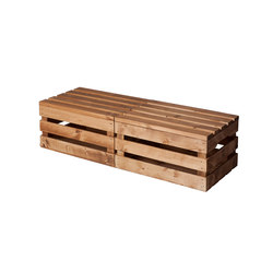 WOOD CRATE 1 LARGE | Lounge tables | Noodles Noodles & Noodles Corp.