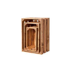 WOOD CRATE 1 SET | Storage boxes | Noodles Noodles & Noodles Corp.