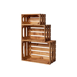 WOOD CRATE 1 SET | Office shelving systems | Noodles Noodles & Noodles Corp.