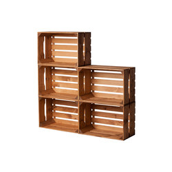 WOOD CRATE 2 LARGE | Office shelving systems | Noodles Noodles & Noodles Corp.