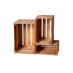 WOOD CRATE 2 SET | Office shelving systems | Noodles Noodles & Noodles Corp.