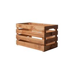 WOOD CRATE  EXTRA LARGE | Storage boxes | Noodles Noodles & Noodles Corp.