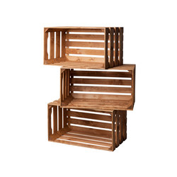 WOOD CRATE  EXTRA LARGE | Office shelving systems | Noodles Noodles & Noodles Corp.