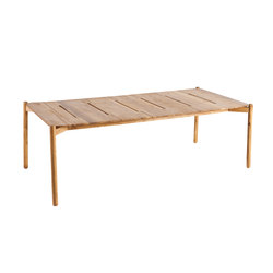 Hamp rectangular dining table | Tables à manger de jardin | Point