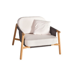 Hamp Lounge armchair | Garden armchairs | Point