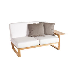 Lineal Module sofa 2 left arm | Garden sofas | Point