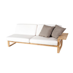 Lineal Module sofa 3 left arm | Garden sofas | Point