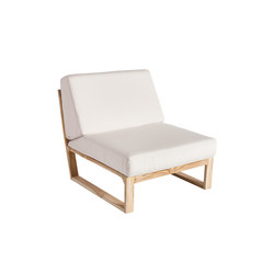 Lineal Modul Zentrum | Garden armchairs | Point