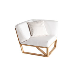 Lineal Modul Ecke | Garden armchairs | Point