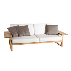 Lineal Sofa 3 | Gartensofas | Point