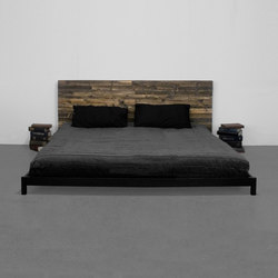 Street Wood Bed | Double beds | Uhuru Design