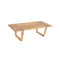 Lineal Rectangular coffee table | Tables basses de jardin | Point