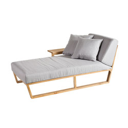 Lineal Sonnenliege, rechter Arm | Sun loungers | Point