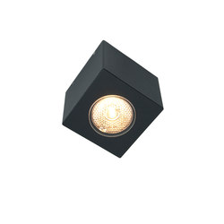 Cube xl ceiling black | General lighting | Dexter